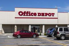 Pi Wayne - vers en août 2017 : Emplacement de devis d'Office Depot Office Depot a des ventes annuelles des ventes annuelles de $1 Image libre de droits