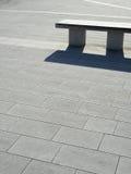 pi znaku w kształcie ławka Zdjęcia Stock