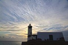 Pia Марии маяка, Прая, Кабо-Верде Стоковое фото RF