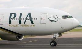 PIA Airlines Boeing 777 Fotografia de Stock Royalty Free
