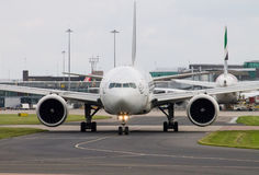 PIA Airlines Boeing 777 Royalty Free Stock Photos