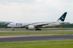 PIA Airlines Boeing 777 Stock Photos