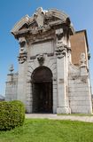 Pia de Porta en Ancona Foto de archivo