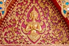 Pia di Wat Puak, tempio in Chiang Mai Thailand fotografie stock libere da diritti