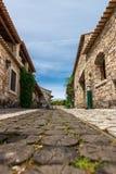 Pia do Urso dorp, Fatima, Portugal Stock Afbeeldingen