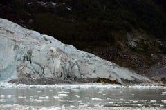 Pia lodowiec na archipelagu Tierra Del Fuego obrazy royalty free