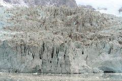 Pia lodowiec na archipelagu Tierra Del Fuego zdjęcia royalty free