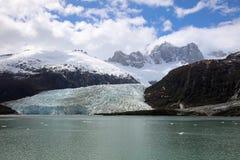 Pia lodowiec w Patagonia Chile obrazy royalty free