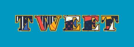 Pia a palavra Art Illustration do conceito ilustração do vetor