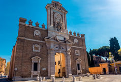 Pia Porte в Риме Стоковая Фотография