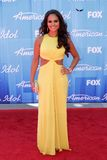 Pia Toscano. At the American Idol 2012 Finale, Nokia Theatre, Los Angeles, CA 05-23-12 Stock Image