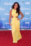 Pia Toscano. At the American Idol 2012 Finale, Nokia Theatre, Los Angeles, CA 05-23-12 Royalty Free Stock Photo