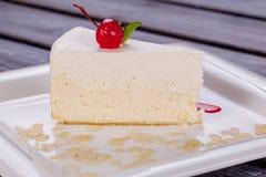 Piace del cierre de la torta para arriba Fotos de archivo