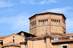 Piacenza Cathedral Royalty Free Stock Photos