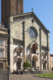 Piacenza cathedral Stock Image