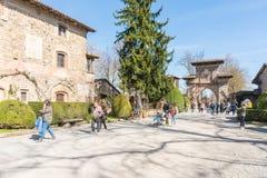 Italian historical village Royalty Free Stock Photography