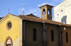 Piacenza romanic church Stock Images
