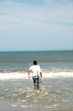 Piacere dei surfisti fotografia stock libera da diritti