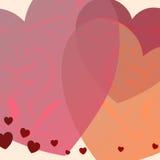 Piacere del cuore Immagini Stock