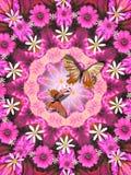 Piaceri del colore rosa illustrazione di stock