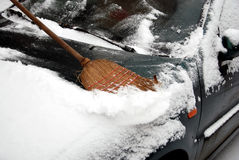 Piaceri di inverno Fotografia Stock