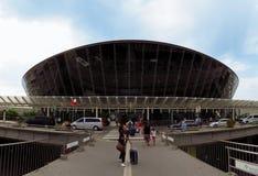 Piacevole - aeroporto del dAzur di Cote fotografie stock libere da diritti