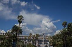 ` Piacevole Azur della Francia Cote d della città della città Immagine Stock