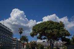 ` Piacevole Azur della Francia Cote d della città della città Fotografia Stock Libera da Diritti
