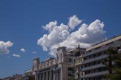 ` Piacevole Azur della Francia Cote d della città della città Fotografia Stock
