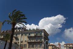 ` Piacevole Azur della Francia Cote d della città della città Immagini Stock