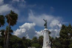 ` Piacevole Azur della Francia Cote d della città della città Fotografie Stock