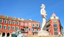 Piacevole, Francia immagine stock