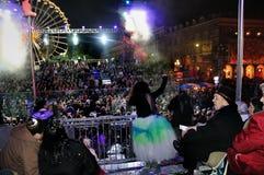 Piacevole, Francia, parata di carnevale Fotografia Stock Libera da Diritti
