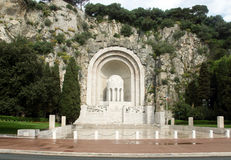 Piacevole - memoriale di guerra Fotografie Stock Libere da Diritti