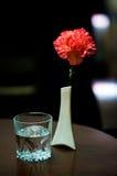 Piacevole sulla tabella in un ristorante Fotografia Stock