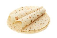 Piadina, итальянская куча tortilla с обручами Стоковые Фотографии RF