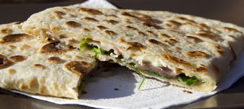Piadina Image Stock Photography