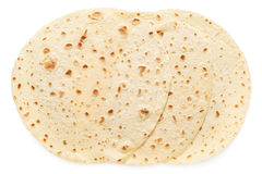 Piadina, italian tortilla group Royalty Free Stock Images