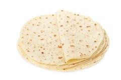 Piadina, italian tortilla heap royalty free stock image