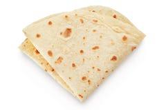 Piadina, pão ázimo italiano imagens de stock