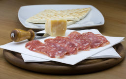 Piadina romagnola Stock Photo
