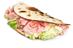 Piadina romagnola Royalty Free Stock Photos