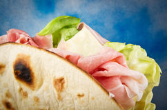 Piadina Romagnola Stock Photography