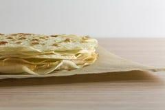 Piadina romagnola typowy dzielnicowy jedzenie w Włochy Obraz Stock