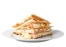 Piadina sandwich Royalty Free Stock Images