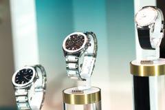 Piaget zegarki w Bucherer sklepie zdjęcie royalty free