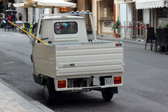 Piaggio-AFFE 50 Van Lizenzfreies Stockfoto