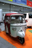 Piaggio Ape. The Big Blu - 5TH EDITION FOR THE BOAT AND SEA EXPO OF ROME  in Rome, Italy for the dates of February 19, 2011 through February 27, 2011 Royalty Free Stock Photography