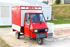 Piaggio Ape 50 Stock Photo