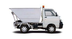 Piaggio Porter Maxi semi-truck Stock Photos